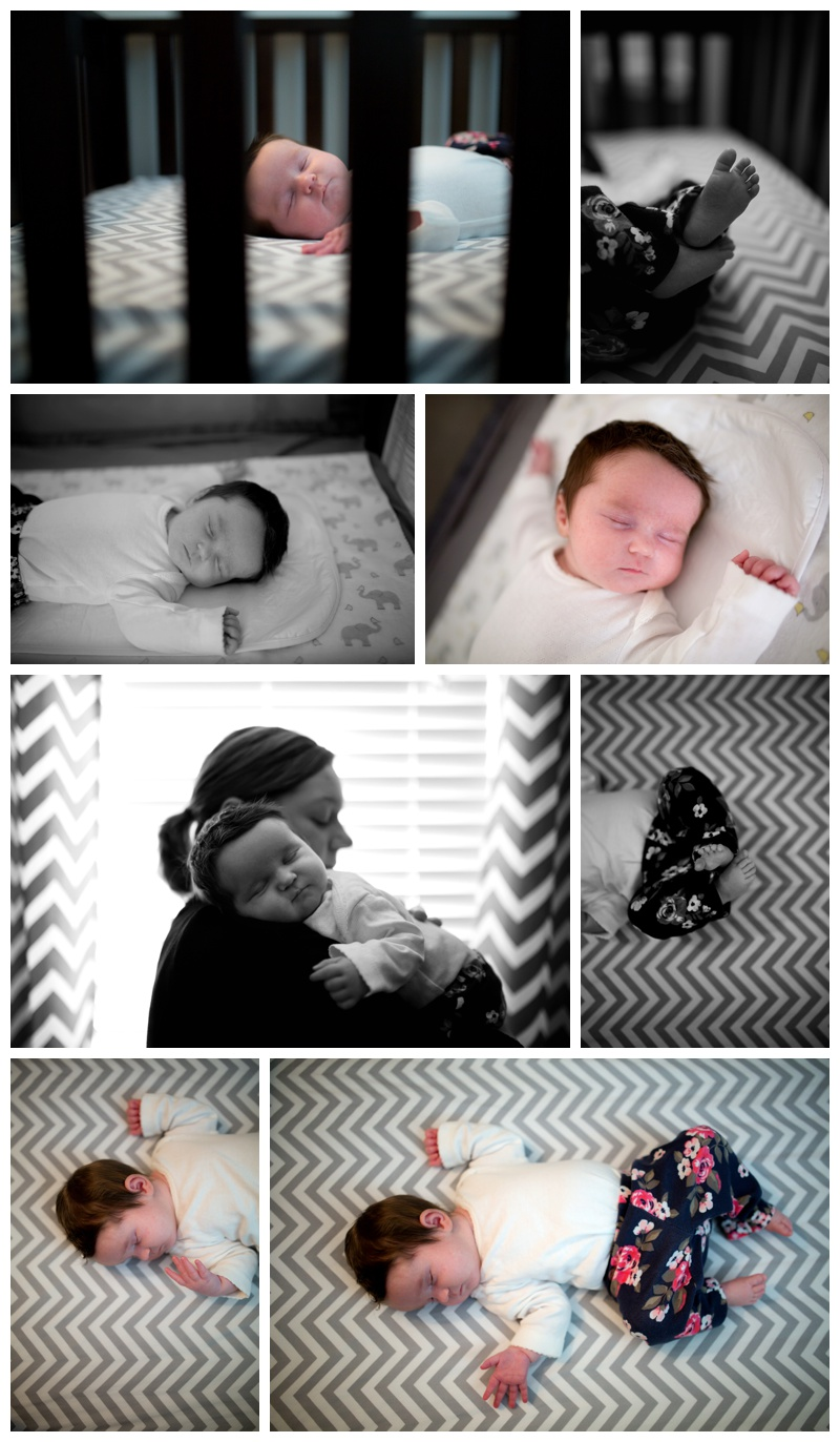 baby photos in home
