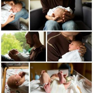 Newborn Baby Hospital Photos