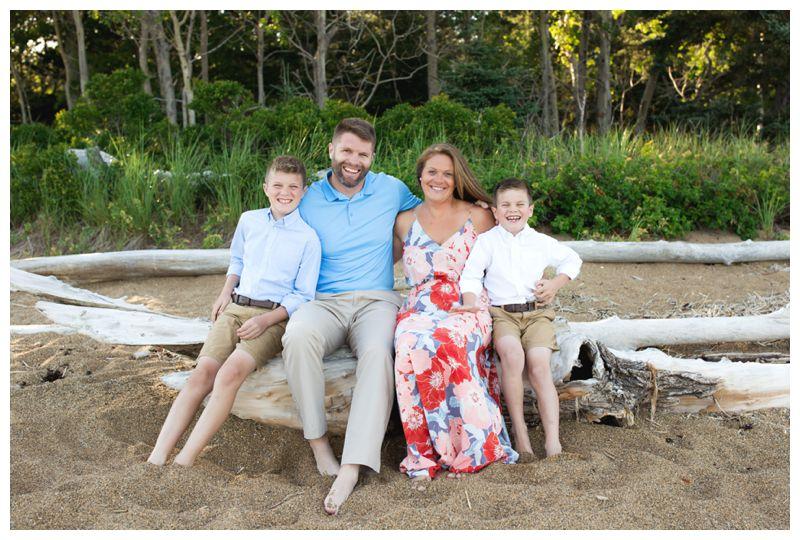 Reid State Park Family Photo
