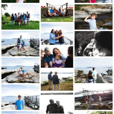boothbay harbor maine photo session