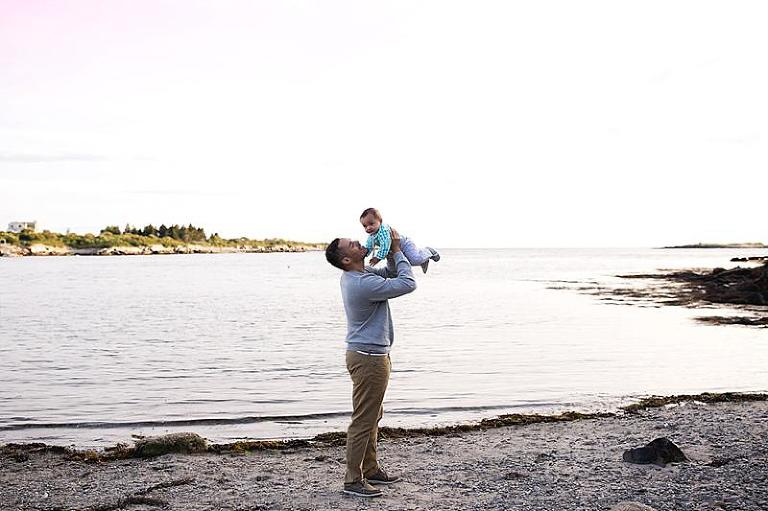 Lands End Beach | Harpswell Maine Photography - Newborn and