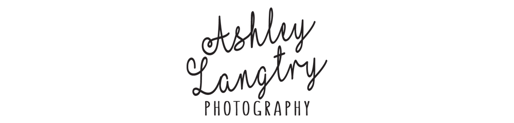 Newborn and Lifestyle Photography by Ashley Langtry logo